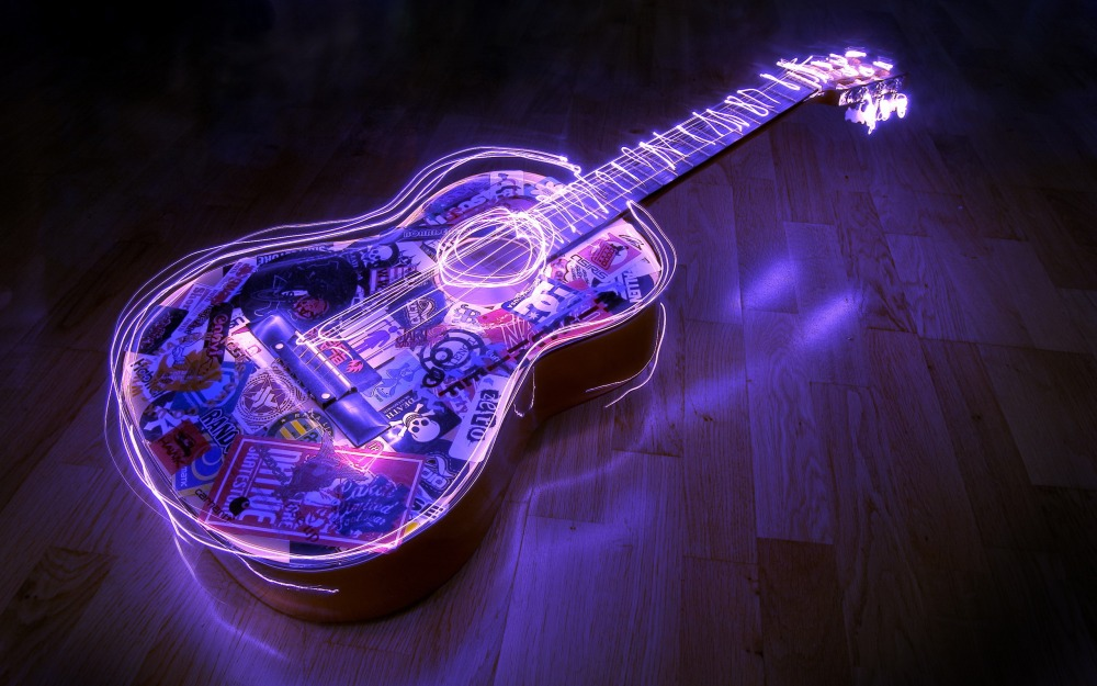 Гитара Фиолетовая